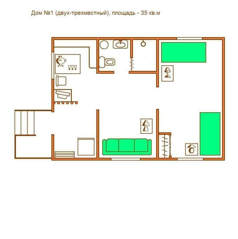 Схема Дом №1