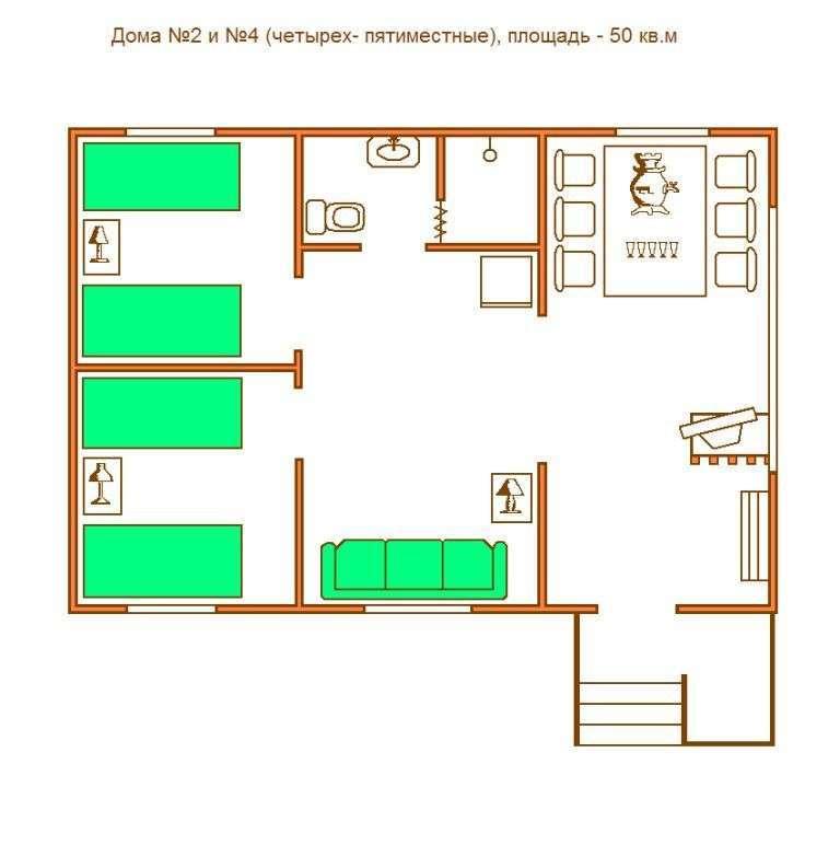 Схема Дом №4